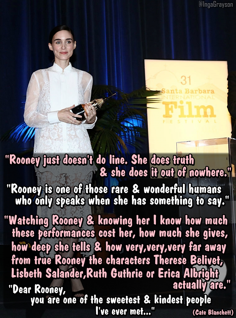 cate on rooney